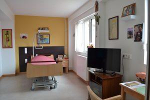 Une chambre de La Vallée - unité d'hébergement classique
