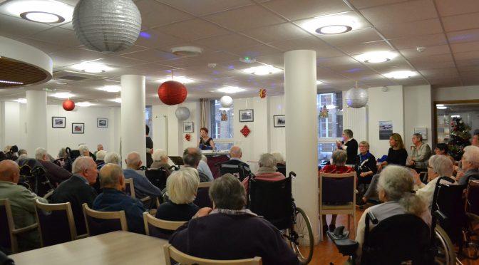 spectacle accordéon avec claudine plihon le 10 décembre